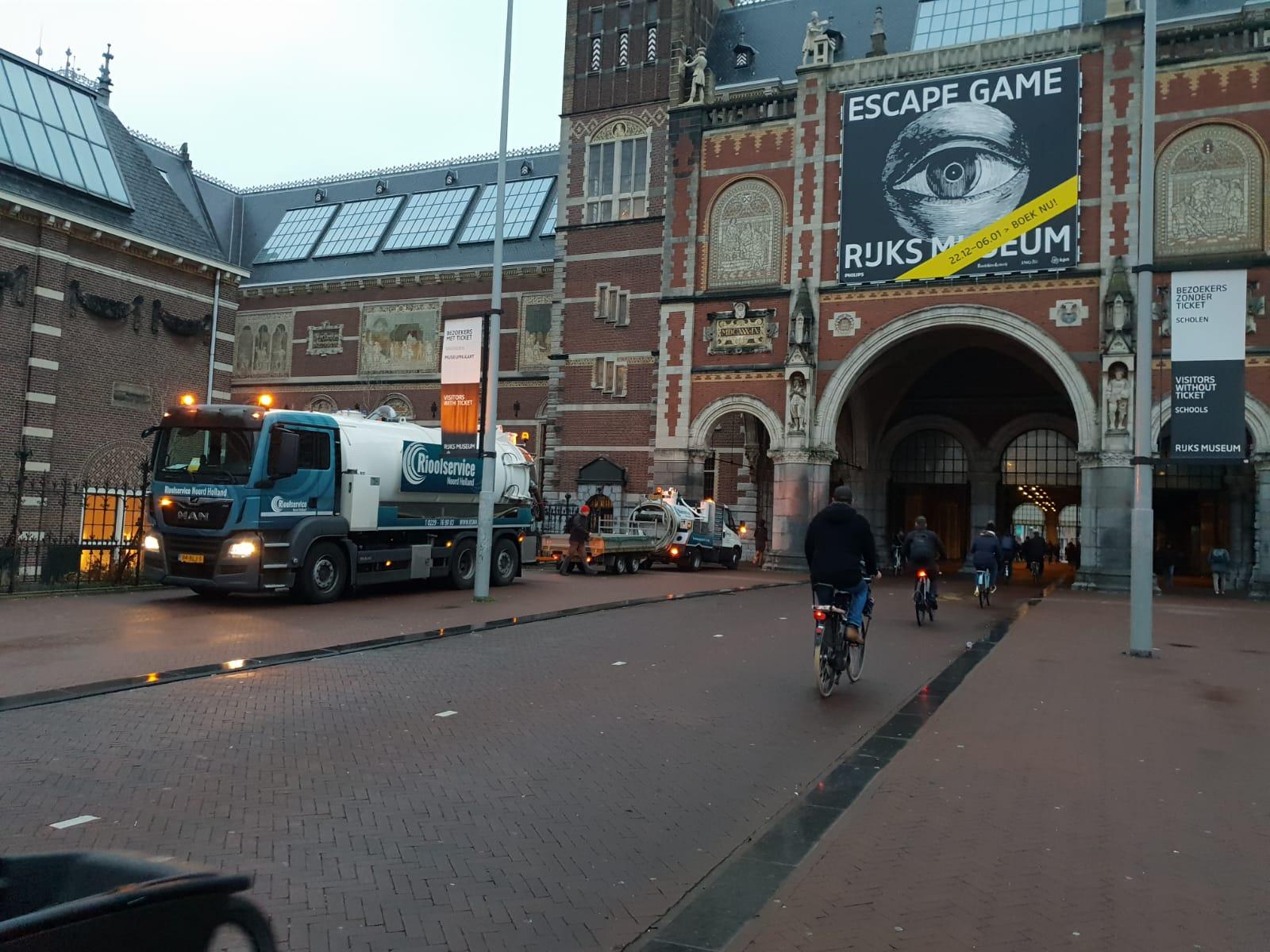 Vetafscheider Rijksmuseum Amsterdam